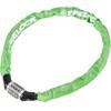Trelock BC 115 Code Kettenschloss 60 cm grün